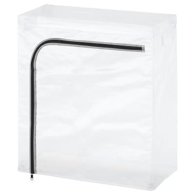 HYLLIS غطاء, شفاف/داخلي/خارجي, 60x27x74 سم