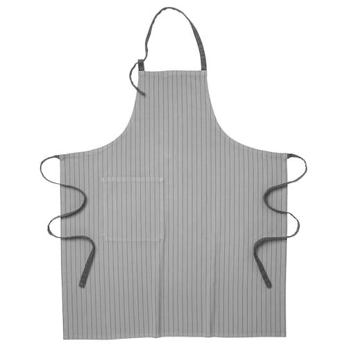IKEA 365+ apron grey 100 cm