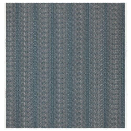 ILDRID fabric blue/beige 230 g/m² 150 cm 6 cm 1.50 m²