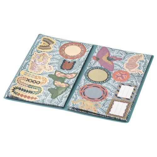 ILLBATTING folder with stickers multicolour/animal world 10.5 cm 18.0 cm