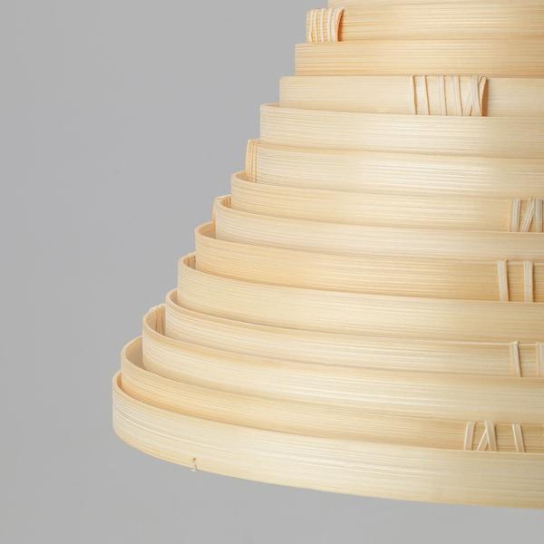 ILSBO غطاء مصباح معلق, خيزران, 45 سم