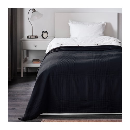 INDIRA Bedspread   This woven cotton bedspread gives your bed a vibrant, decorative look and extra warmth and comfort for you.