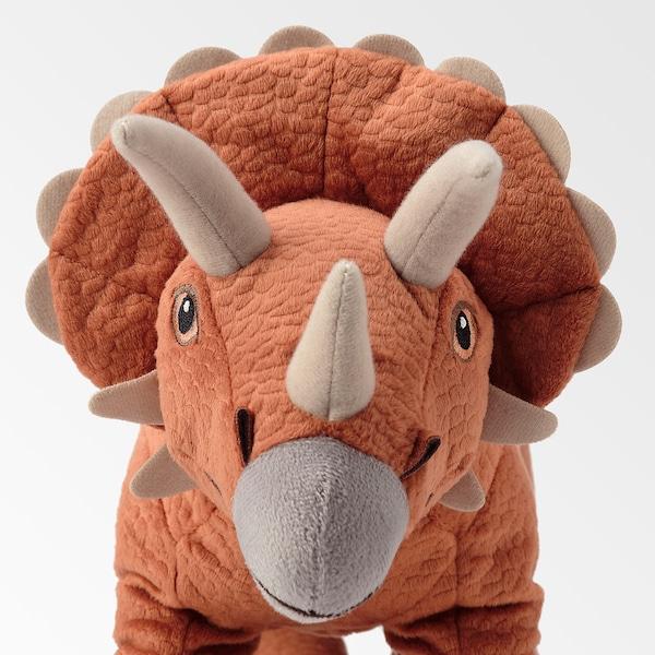 JÄTTELIK Soft toy, dinosaur/dinosaur/triceratops, 46 cm