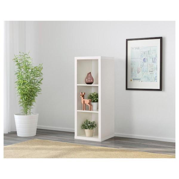 KALLAX Shelving unit, white, 42x112 cm