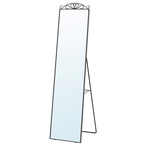 KARMSUND standing mirror black 40 cm 167 cm 45 cm