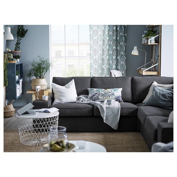 Kivik Corner Sofa 4 Seat Hillared Anthracite Ikea
