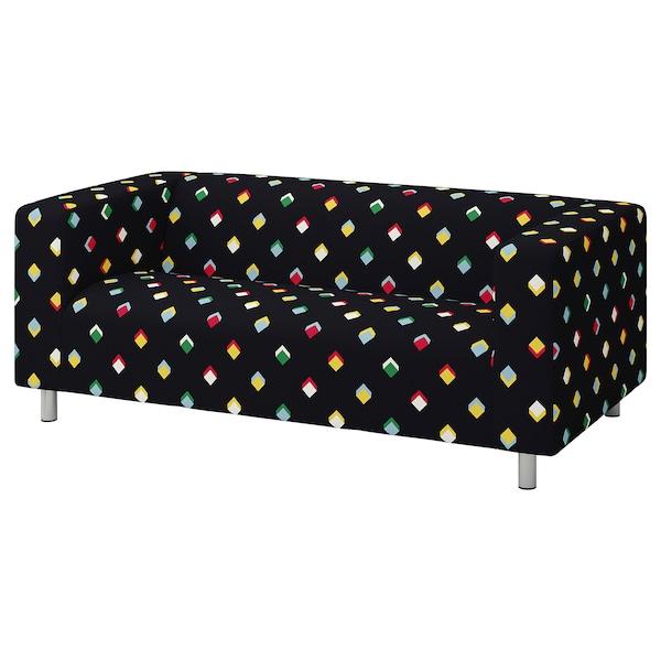 KLIPPAN 2-seat sofa, Rotebro multicolour