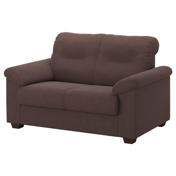 KNISLINGE Two-seat sofa, Samsta dark brown