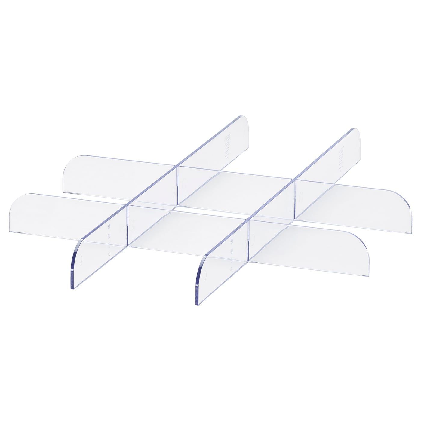 Komplement Divider For Pull Out Tray Transparent Ikea