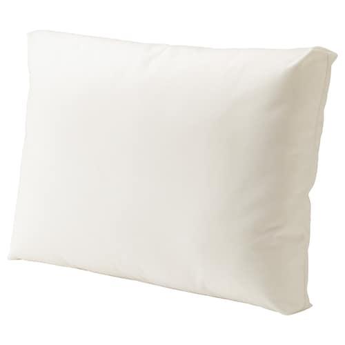 KUNGSÖ back cushion, outdoor white 62 cm 44 cm 18 cm 900 g 1250 g