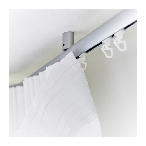 KVARTAL Glider and hook   For easy hanging of curtains with KVARTAL curtain hanging system.
