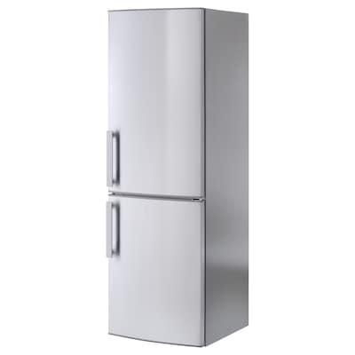KYLIG Fridge/freezer A++, No Frost stainless steel, 220/91 l