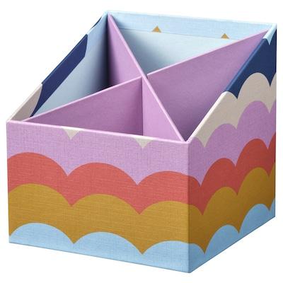 LANKMOJ Organiser, multicolour, 12x12 cm