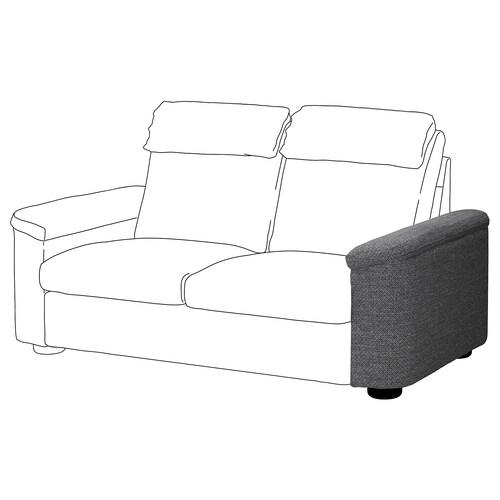 LIDHULT armrest Lejde grey/black 62 cm 24 cm 98 cm 55 cm