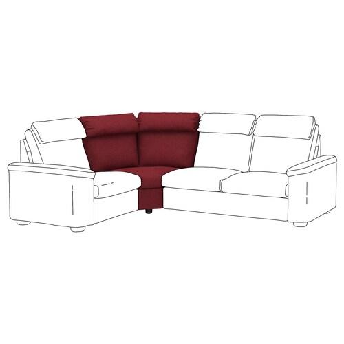 LIDHULT corner section Lejde red-brown