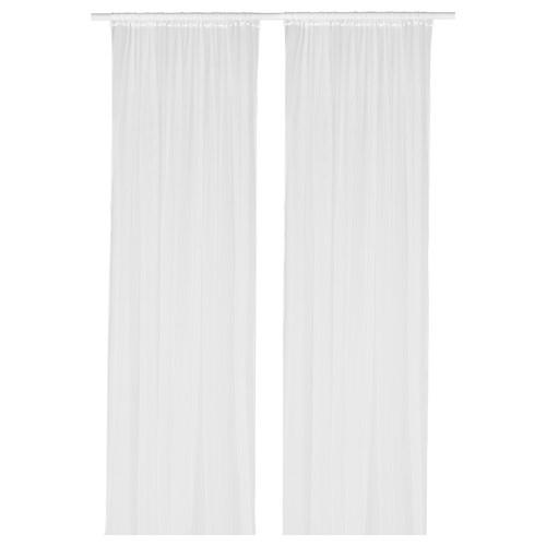LILL net curtains, 1 pair white 300 cm 280 cm 0.40 kg 8.40 m² 2 pieces