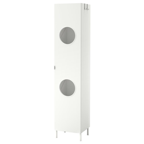 LILLÅNGEN laundry cabinet white 40 cm 38 cm 189 cm