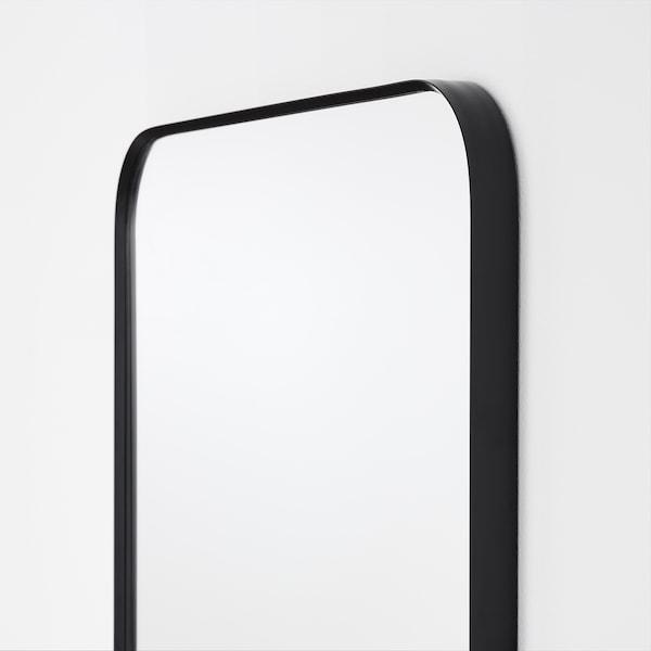 LINDBYN مرآة, أسود, 40x130 سم