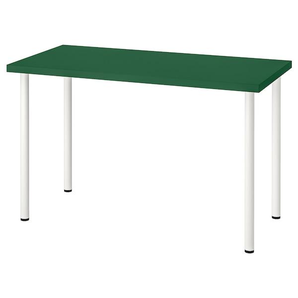 LINNMON / ADILS Table, green/white, 120x60 cm