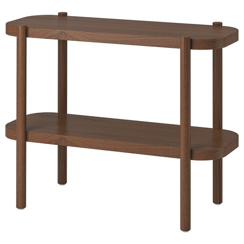 LISTERBY console table brown 92 cm 38 cm 71 cm