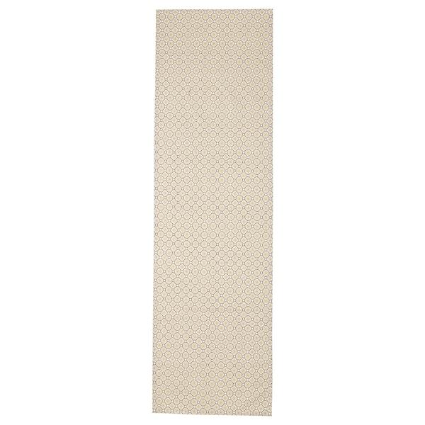 LJUVARE Table-runner, beige, 40x140 cm