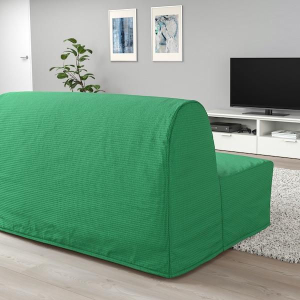 LYCKSELE HÅVET 2-seat sofa-bed, Vansbro bright green