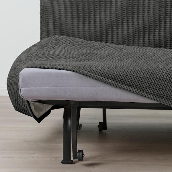 LYCKSELE HÅVET 2-seat sofa-bed, Vansbro dark grey