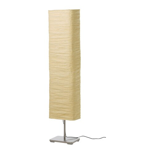 MAGNARP Floor lamp   Gives a soft glowing light, that gives your home a warm and welcoming atmosphere.