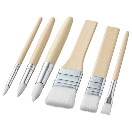 MÅLA brush, set of 6
