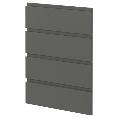 METOD 4 fronts for dishwasher Voxtorp dark grey 60.0 cm 88.0 cm 80.0 cm 2.2 cm