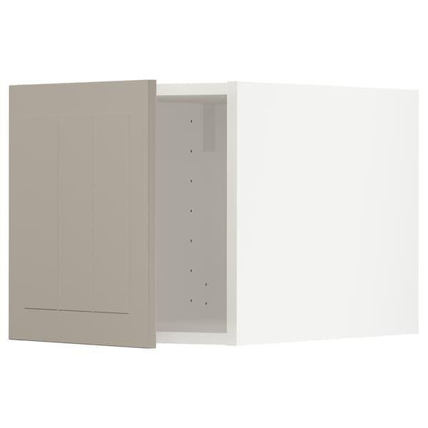 METOD Top cabinet, white/Stensund beige, 40x40 cm