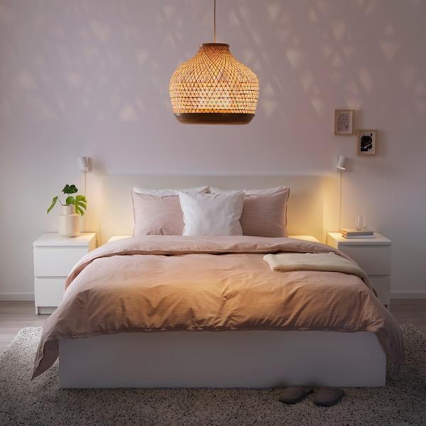 MISTERHULT Pendant lamp, bamboo/handmade, 45 cm