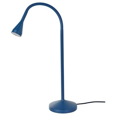 NÄVLINGE مصباح عمل LED, أزرق غامق