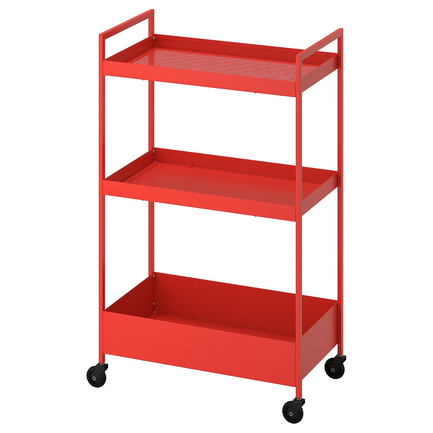 Nissafors Trolley Red Orange Ikea