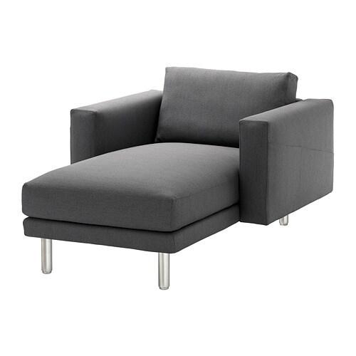 norsborg chaise longue finnsta dark grey metal ikea. Black Bedroom Furniture Sets. Home Design Ideas