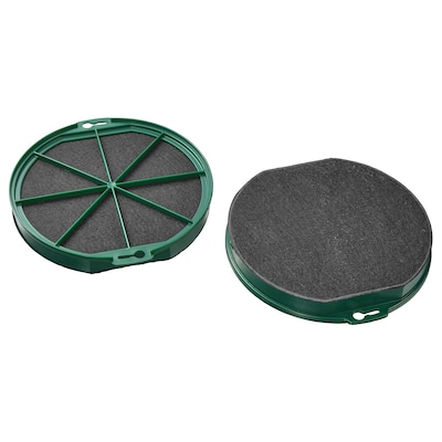 NYTTIG FIL 400 Charcoal filter, 2 pieces