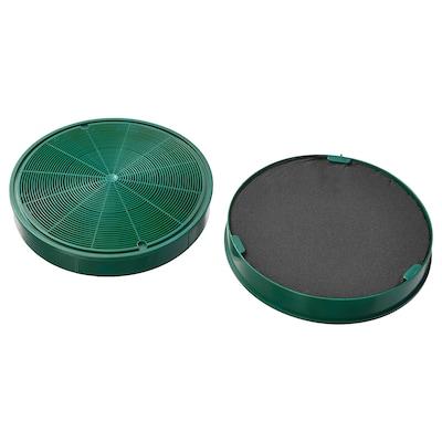 NYTTIG FIL 500 Charcoal filter, 2 pieces