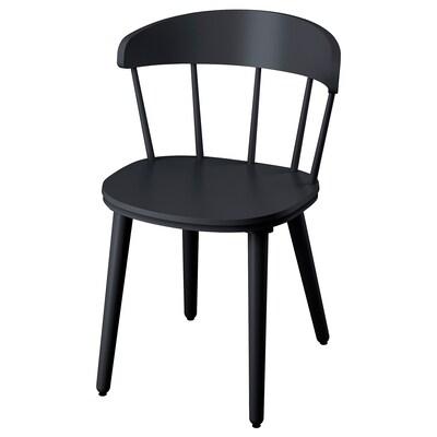 OMTÄNKSAM Chair, anthracite