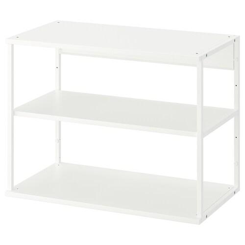 PLATSA open shelving unit white 40 cm 80 cm 60 cm