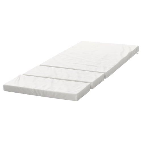 PLUTTEN foam mattress for extendable bed 165 cm 200 cm 130 cm 80 cm 7 cm