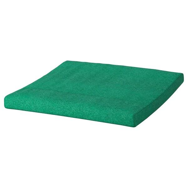 POÄNG Footstool cushion, Lysed bright green