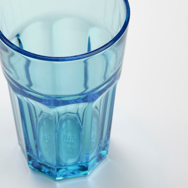 POKAL Glass, blue, 35 cl