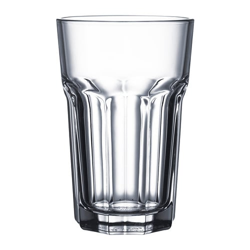 POKAL Glass   Also suitable for hot drinks.  Made of tempered glass, which makes the glass durable and extra resistant to impact.