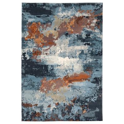 REERNÄS Rug, low pile, multicolour, 160x235 cm