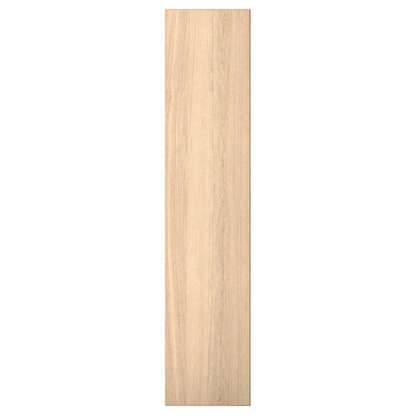 REPVÅG باب بمفصلات, قشرة سنديان مصبوغ أبيض, 50x229 سم