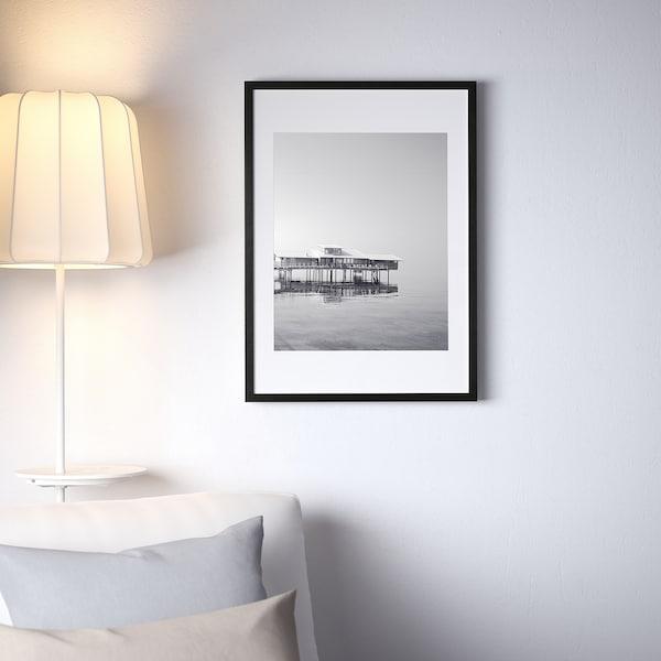 RIBBA Frame, black, 50x70 cm