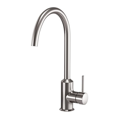White Kitchen Mixer Tap ringskÄr single-lever kitchen mixer tap - ikea