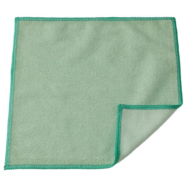 RINNIG منشفة صحون, أخضر, 25x25 سم