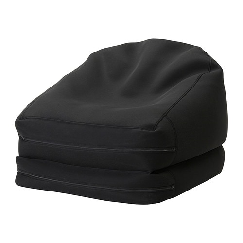 ris beanbag in outdoor black ikea. Black Bedroom Furniture Sets. Home Design Ideas