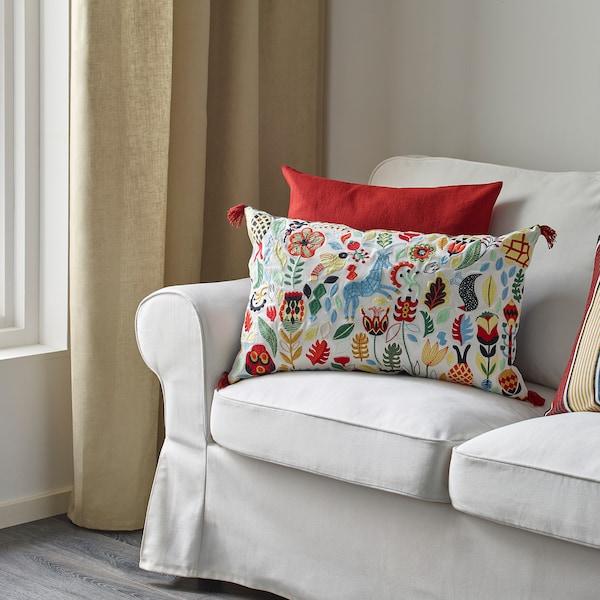 RÖDARV وسادة, عدة ألوان, 40x65 سم
